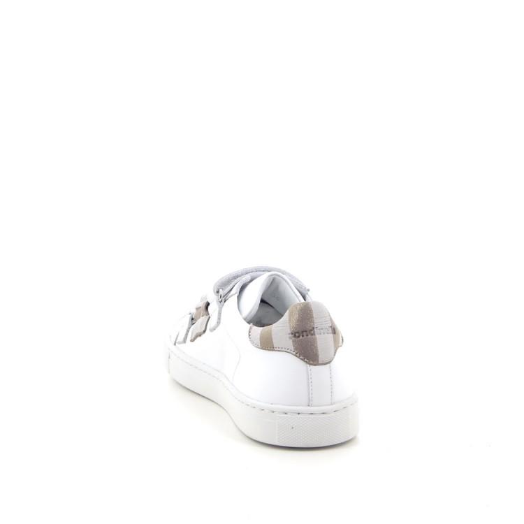 Rondinella kinderschoenen mocassin wit 183573