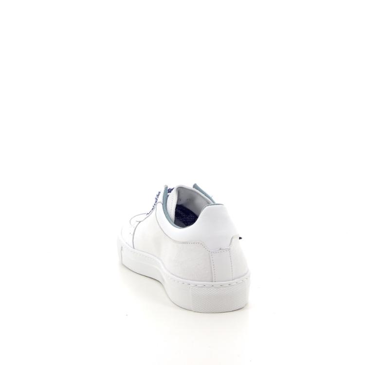 Rondinella kinderschoenen veterschoen wit 183562
