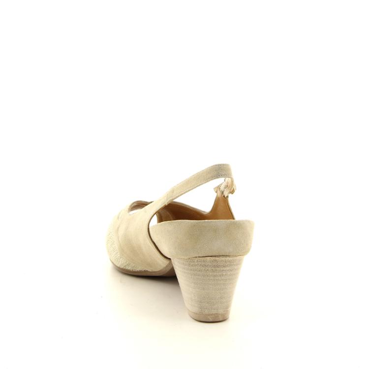 Platino damesschoenen sandaal goudbeige 14253