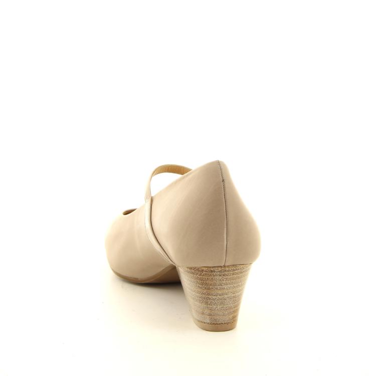 Platino damesschoenen pump taupe 14245