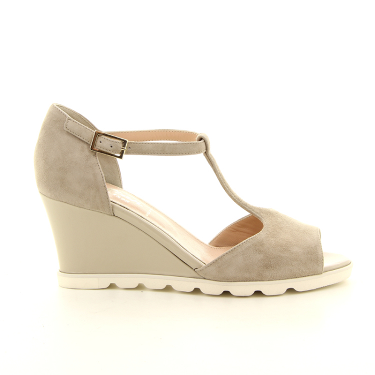 Voltan damesschoenen sandaal taupe 12515