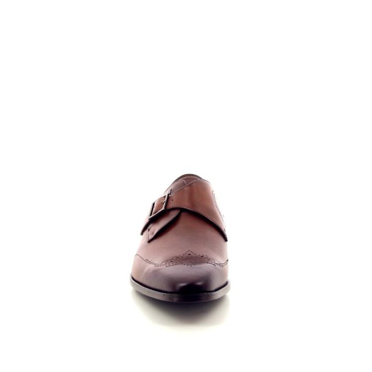 Van bommel herenschoenen mocassin cognac 188493