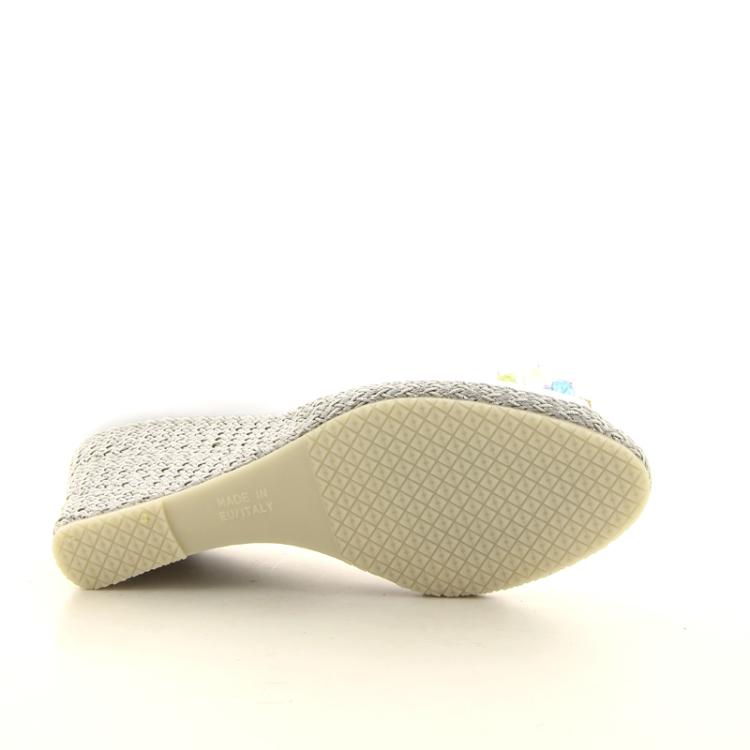 La badia damesschoenen espadrille wit 98703