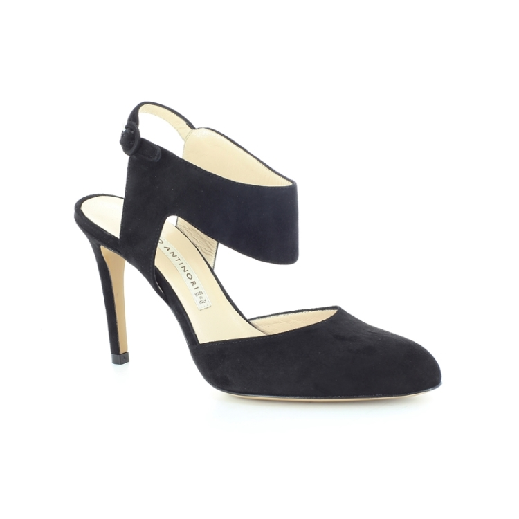 Antinori damesschoenen sandaal zwart 89122