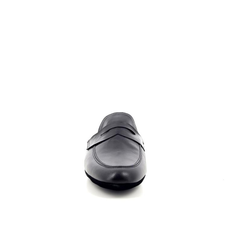 Crb herenschoenen pantoffel zwart 189880