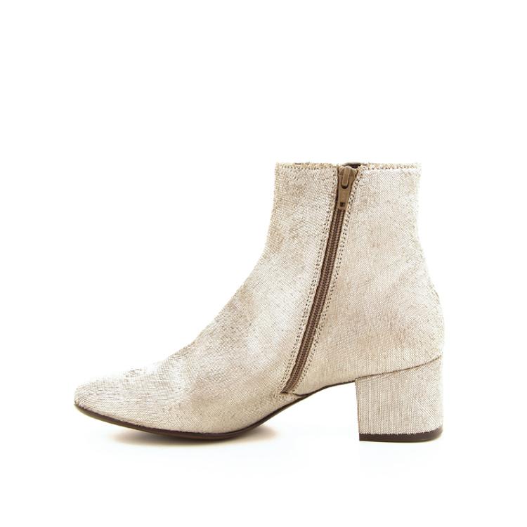 Agl damesschoenen boots zilver 18279