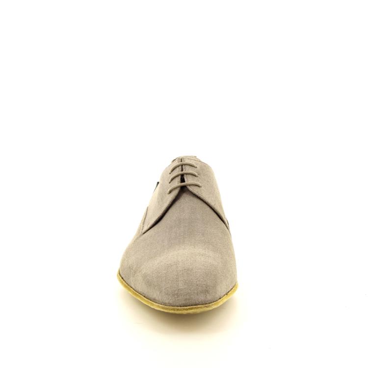 Floris van bommel herenschoenen veterschoen grijs 11622