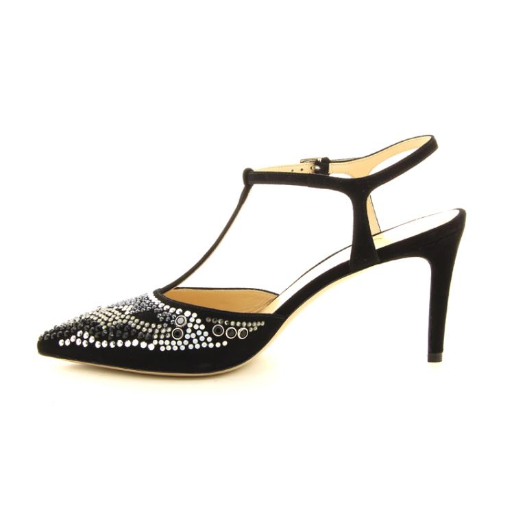 Dyva damesschoenen sandaal zwart 13057