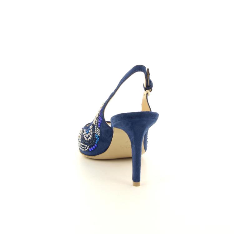 Dyva damesschoenen sandaal blauw 13056