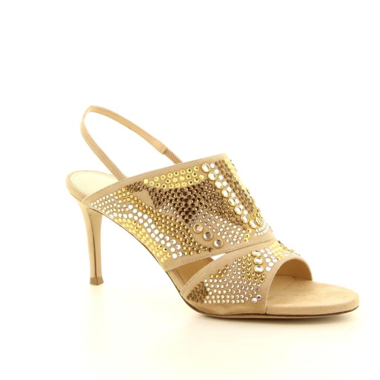 Dyva damesschoenen sandaal camel 13059
