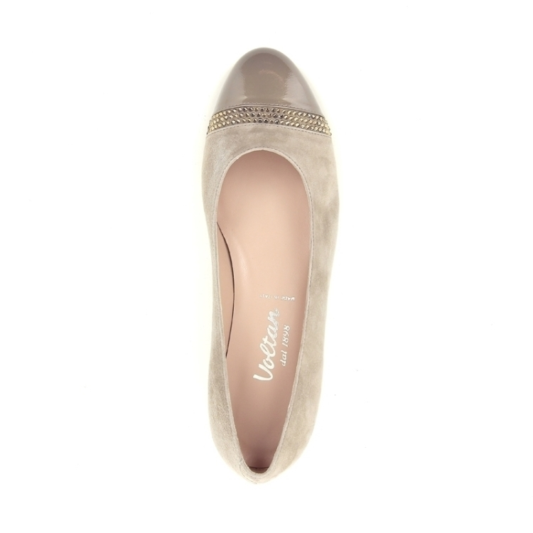 Voltan damesschoenen ballerina taupe 167974