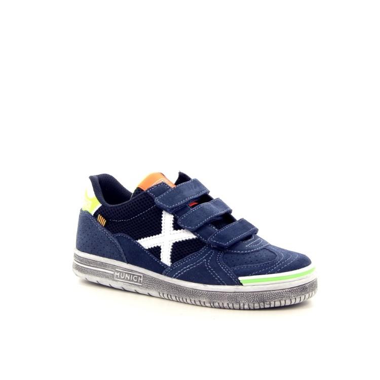 Munich kinderschoenen sneaker jeansblauw 183539