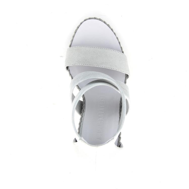 A.f. vandevorst damesschoenen sandaal lichtgrijs 89584