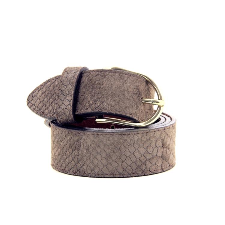Accento accessoires riem d.taupe 191267