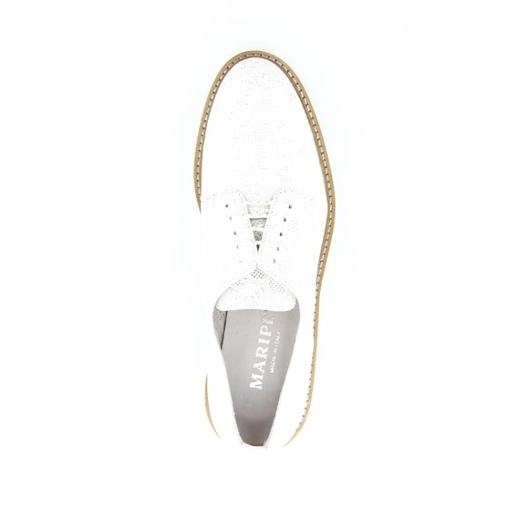 Maripe damesschoenen veterschoen wit 169067