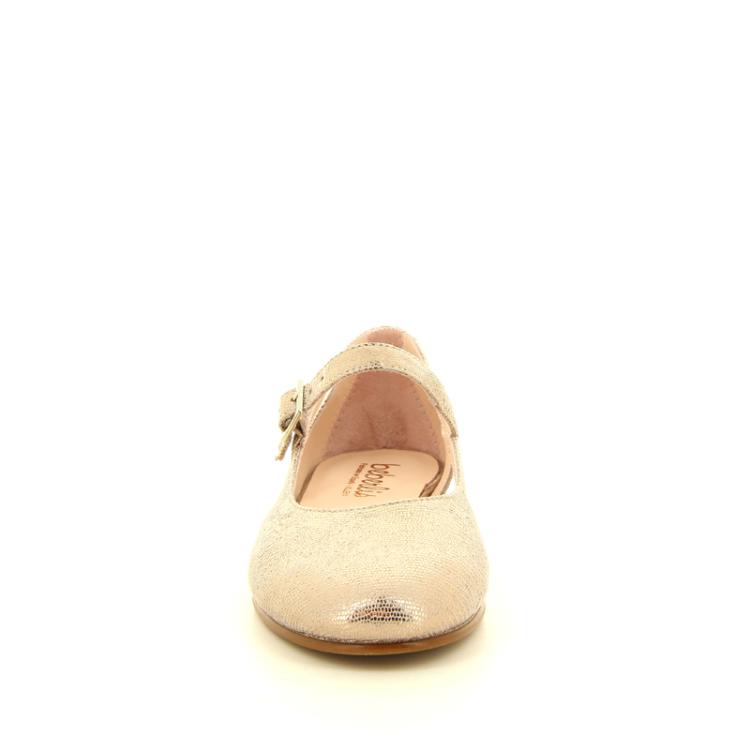 Beberlis kinderschoenen ballerina brons 11270