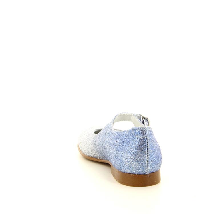 Beberlis kinderschoenen ballerina blauw 11282