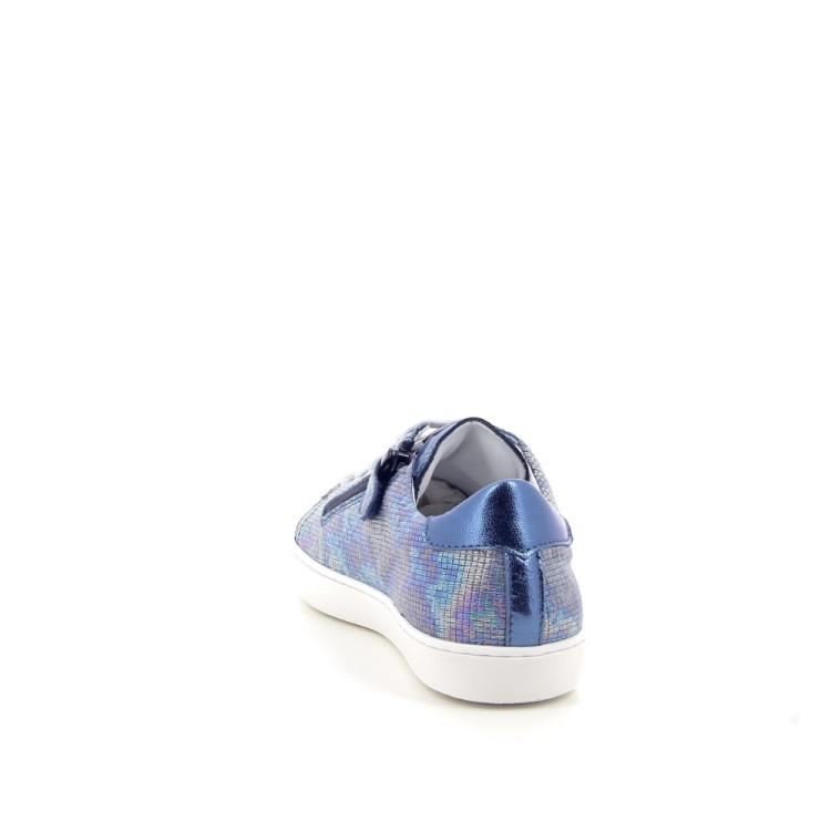 Beberlis kinderschoenen veterschoen jeansblauw 183734