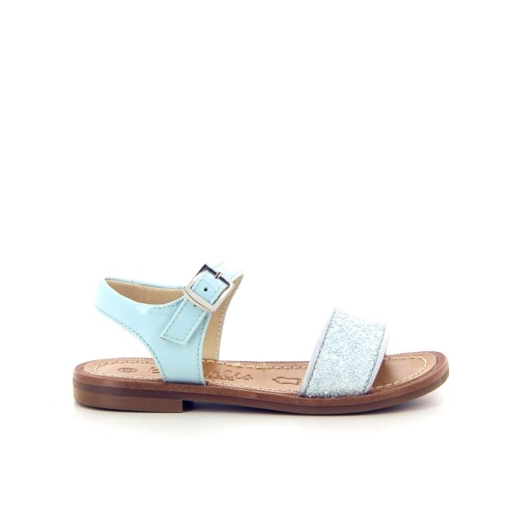 Beberlis kinderschoenen sandaal muntgroen 183694
