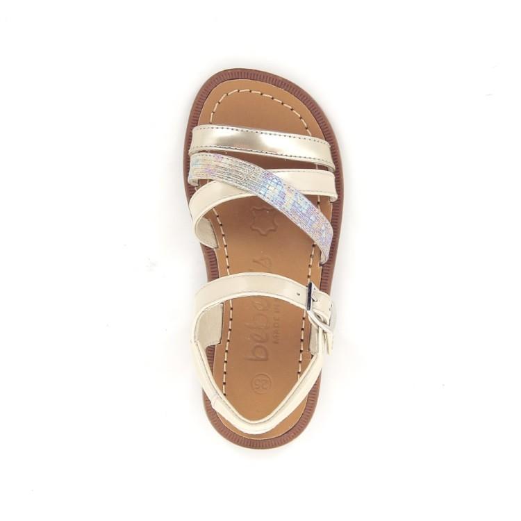 Beberlis kinderschoenen sandaal beige 190916