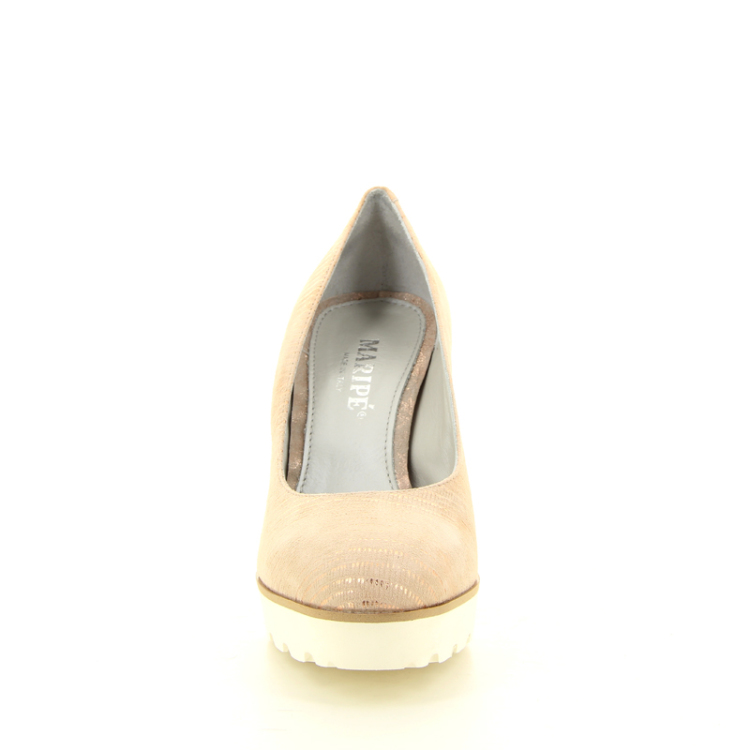 Maripe damesschoenen pump poederrose 15557