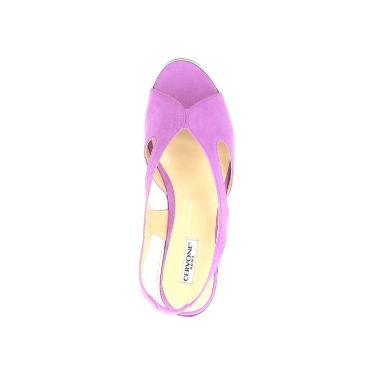Cervone damesschoenen sandaal lila 193629
