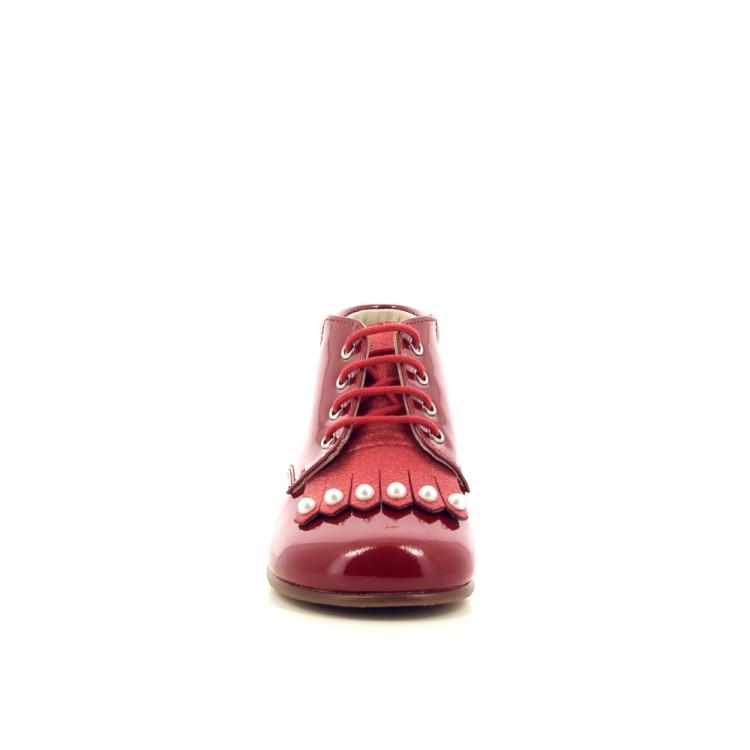 Beberlis kinderschoenen boots rood 189342