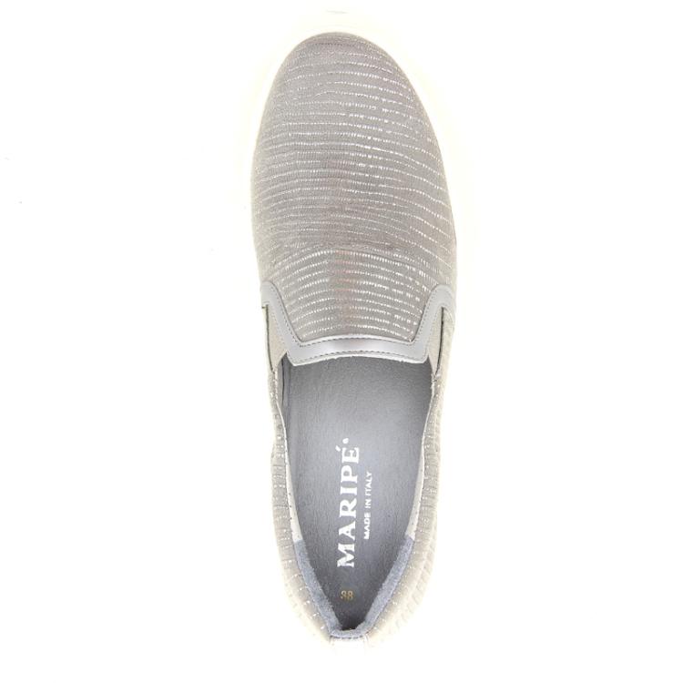 Maripe damesschoenen sneaker lichtgrijs 98725
