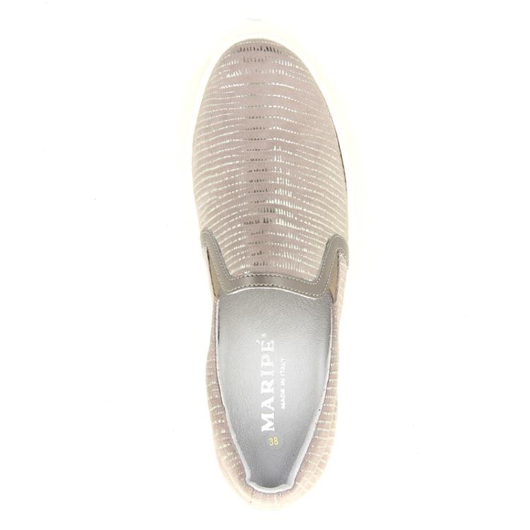 Maripe damesschoenen sneaker taupe 98726