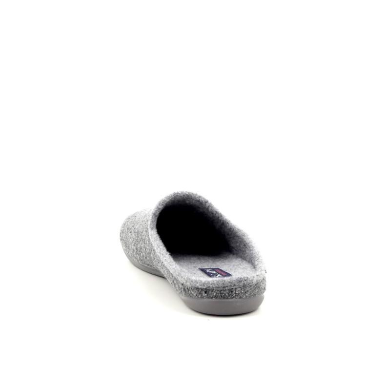 Scapa scarpe herenschoenen pantoffel lichtgrijs 188420