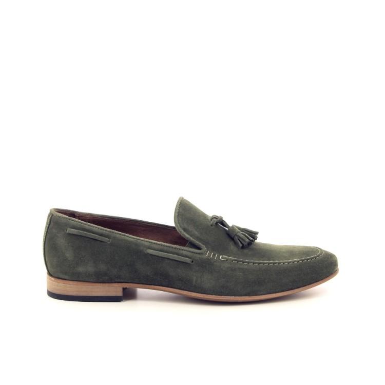 Scapa scarpe herenschoenen mocassin kaki 193709