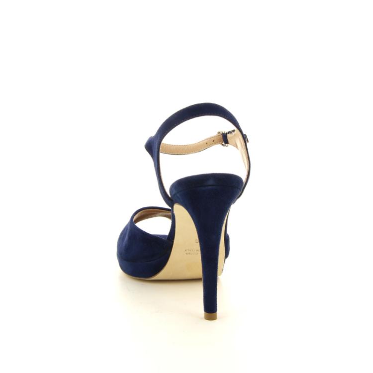 Lorenzo masiero damesschoenen sandaal inktblauw 14318
