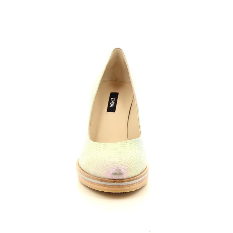 Zinda damesschoenen pump lichtgrijs 13409