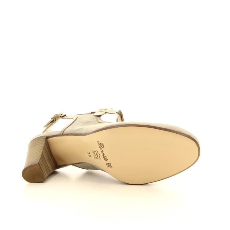 Benoite c damesschoenen sandaal l.taupe 13749