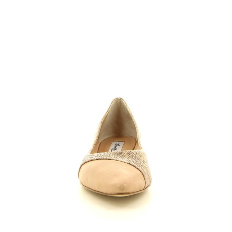 Benoite c damesschoenen ballerina brons 13830