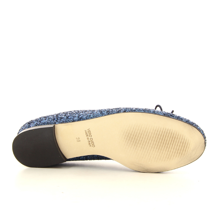 Paoli ballerina damesschoenen ballerina donkerblauw 12822