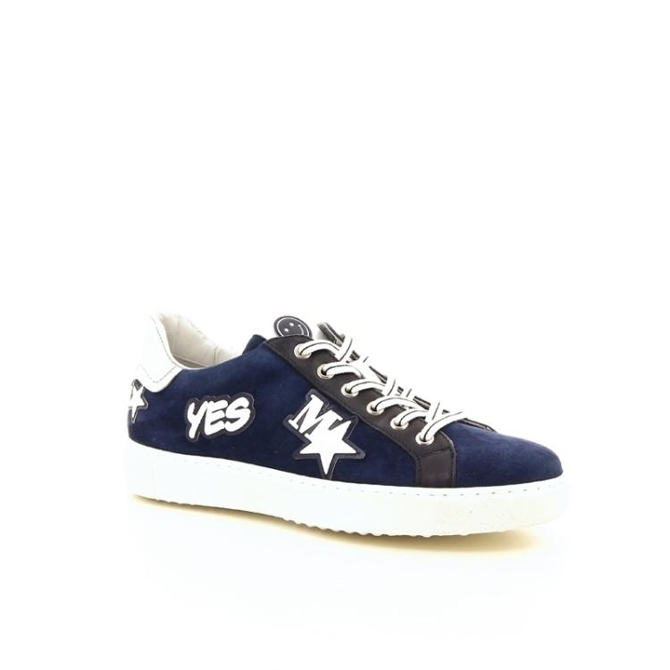 Maripe damesschoenen veterschoen blauw 169015