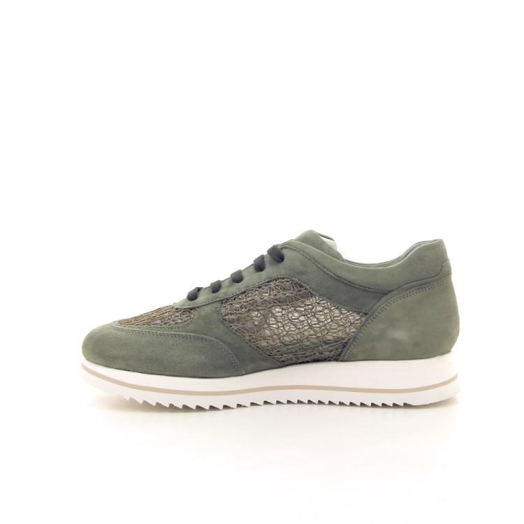 Alba teci  damesschoenen sneaker kaki 195562