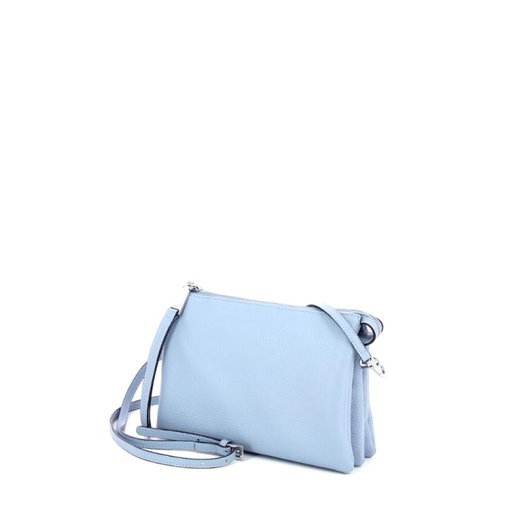 Abro tassen handtas lichtblauw 185565
