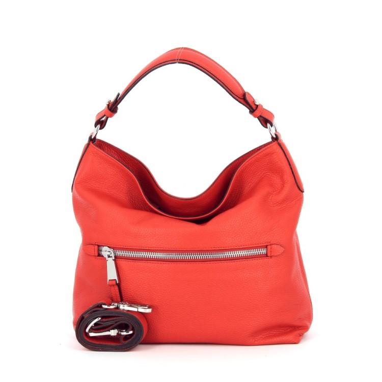 Abro tassen handtas rood 185479