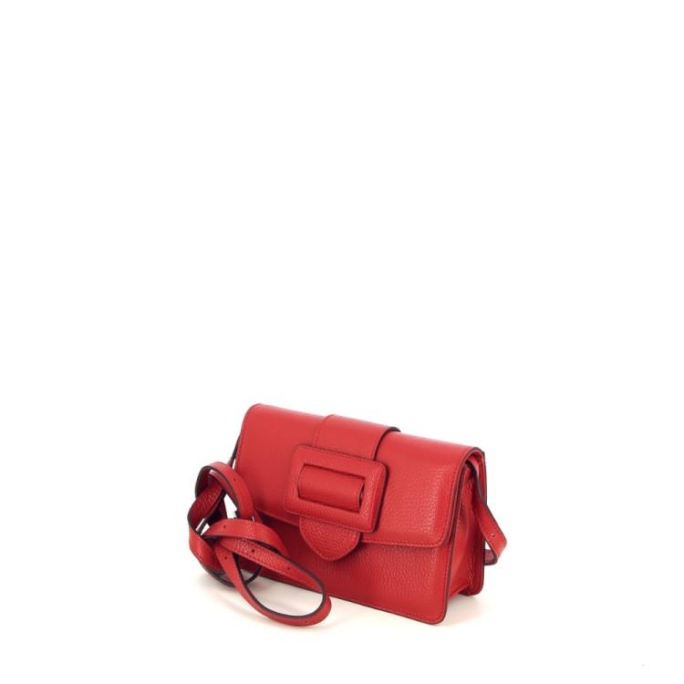Abro tassen handtas rood 196181