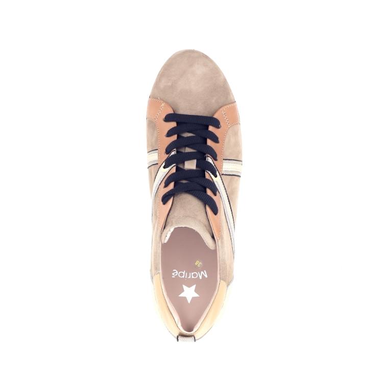 Maripe damesschoenen sneaker naturel 195864