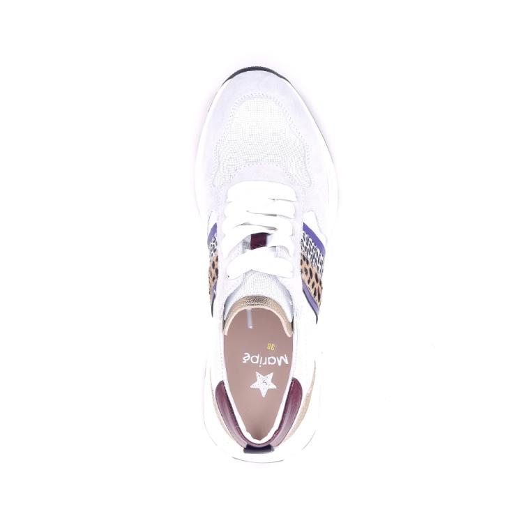 Maripe damesschoenen sneaker wit 195855