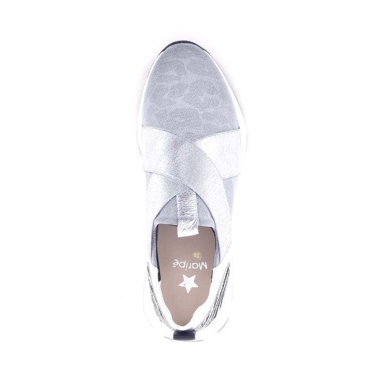 Maripe damesschoenen sneaker zilver 195858