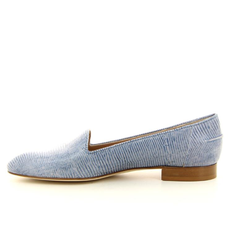 Lorenzo masiero damesschoenen mocassin jeansblauw 14346