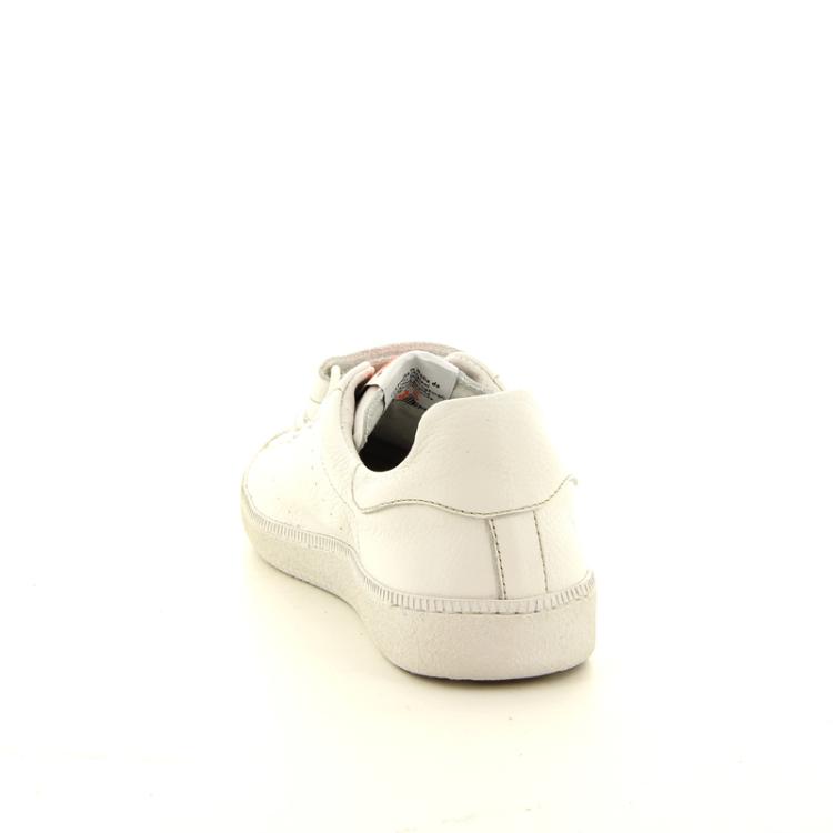 Momino kinderschoenen mocassin wit 10459