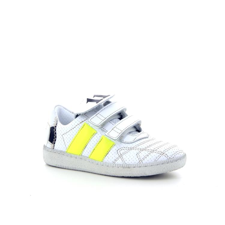 Momino kinderschoenen sneaker wit 182249