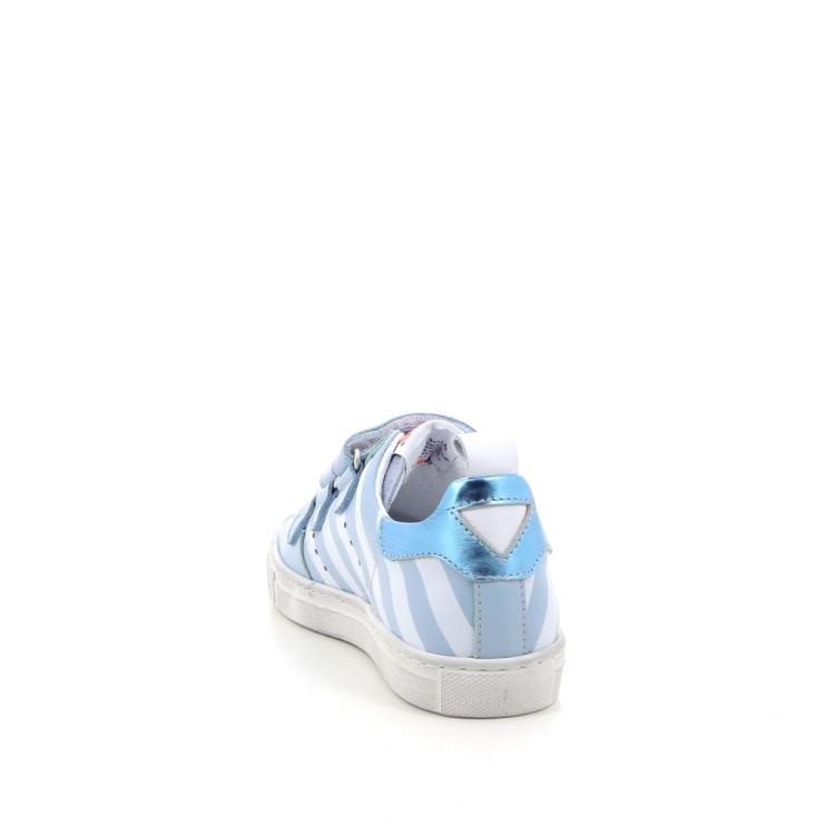 Momino kinderschoenen mocassin lichtblauw 184090