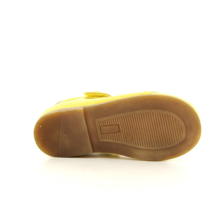 Lepi kinderschoenen ballerina geel 10741