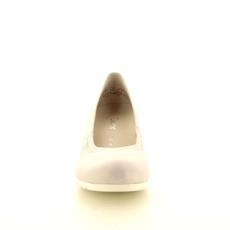 Gabor damesschoenen pump zilver 10108